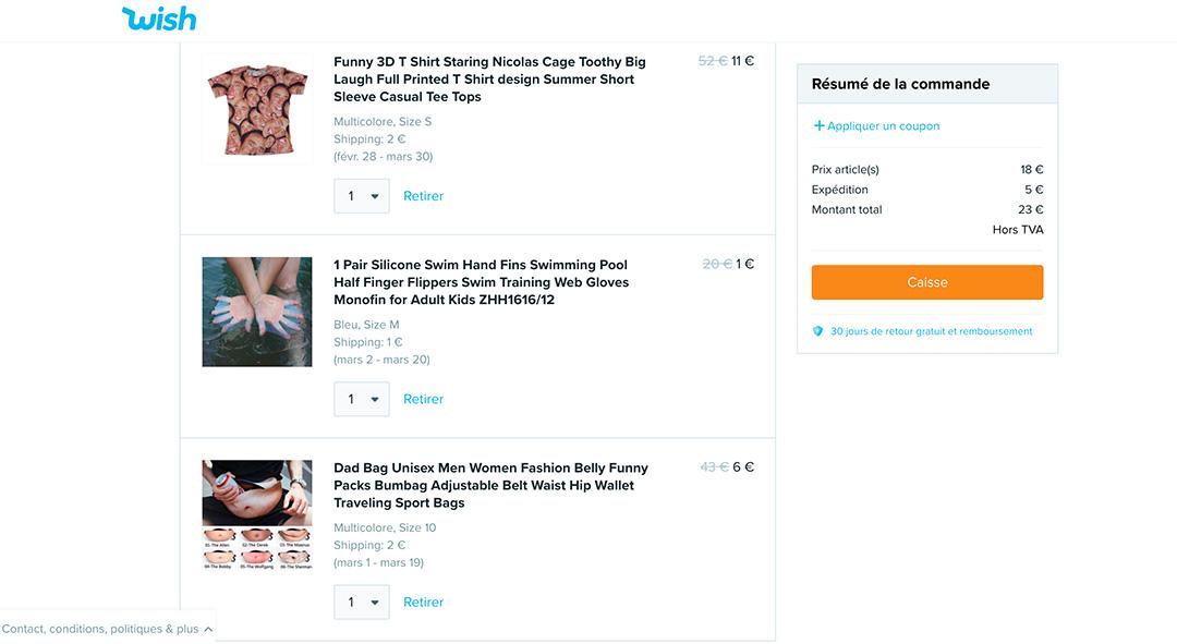 Merveilleux Wish Des Soldes Toute L Année wish, le site qui gagne des milliards en vous vendant n'importe quoi