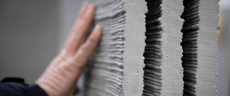 Grâce à XtreeE, le béton s'imprime en 3D et se veut écologique