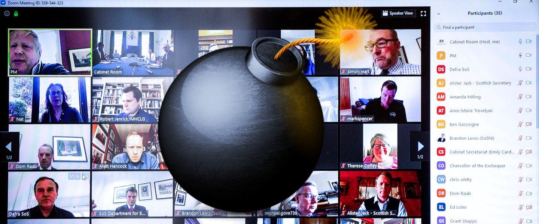 Comment dynamiter sa journée de travail en quelques clics. |Pippa Fowles / 10 Downing Street / AFP – Freepng– Montage korii.fr