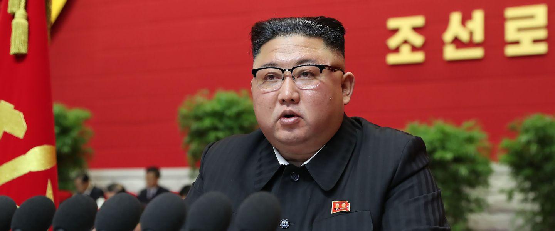 «C'est la crise», reconnaît Kim Jong-un. |STR / KCNA via KNS / AFP