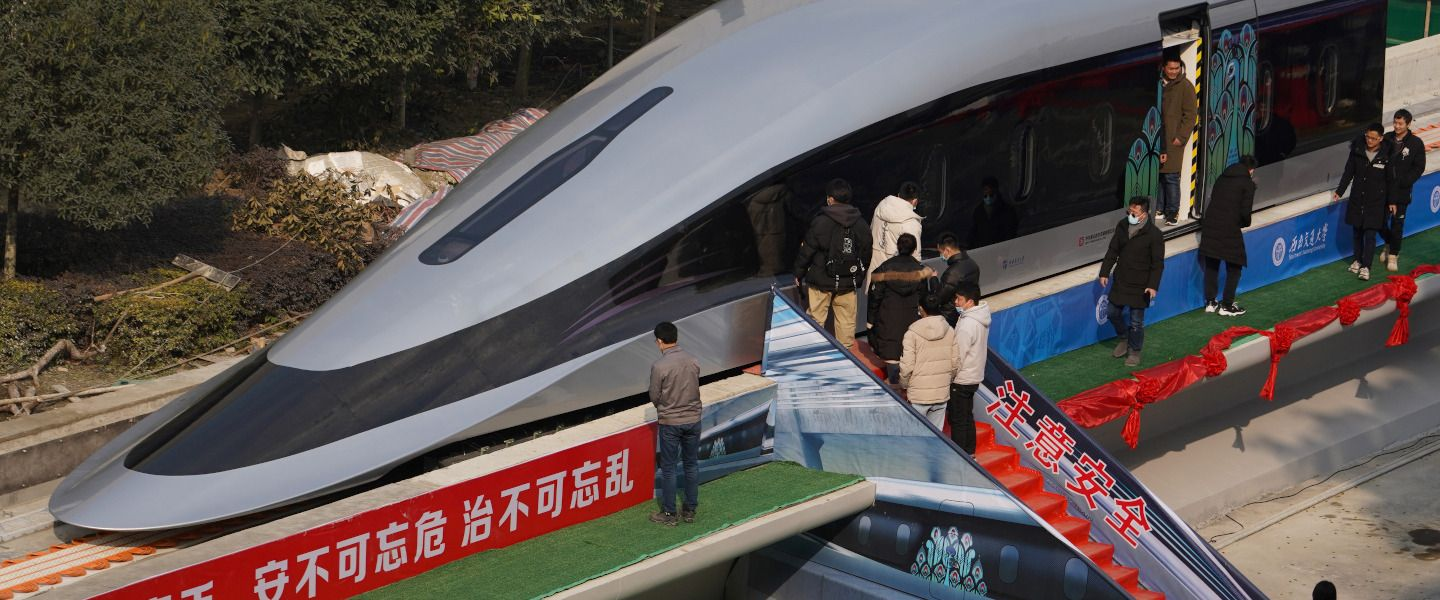La Chine dévoile un train «Maglev» capable de rouler à 620 km/h