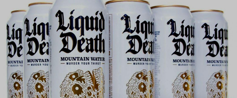 De l'eau en canette, oui, mais de l'eau «punk». | Via Liquid Death