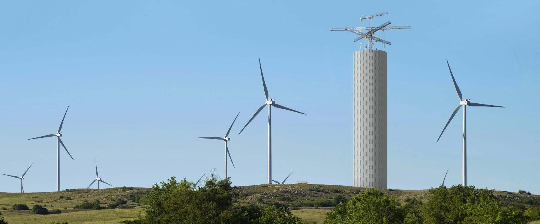 Pour stocker l'énergie solaire ou éolienne, les start-ups se tournent vers la gravité