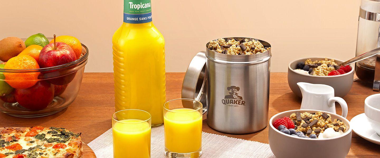 Réutiliser au lieu de jeter: l'écologie, ça peut commencer dès le petit-déjeuner. | Loop