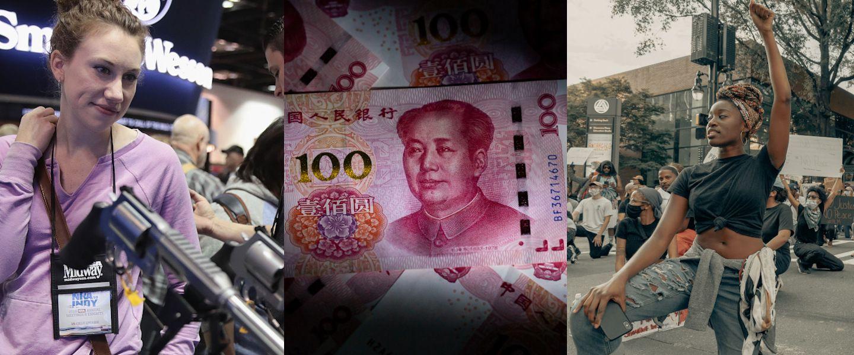 Carton pour les marchands d'armes, à la découverte de l'infiniment petit, le yuan virtuel, une journée sur korii.