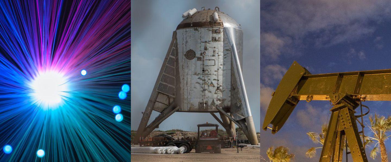SpaceX, un voisin infernal, une solution pour se débarrasser du pétrole, record de vitesse sur internet, une journée sur korii.