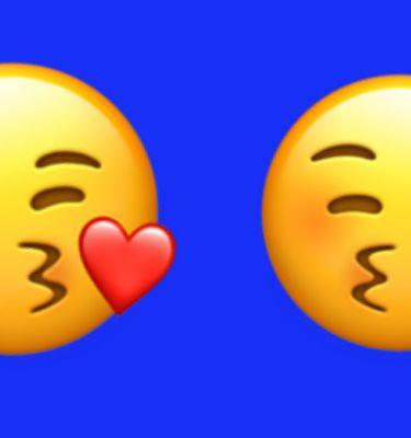 Sur Twitter Ou Messenger Les Emojis Ne Remplacent Pas Vraiment La Bise Korii